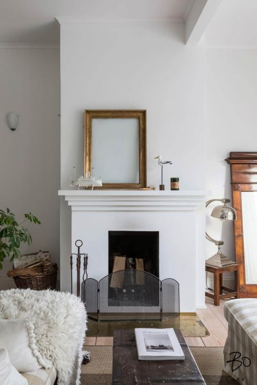 make fireplace focal point 12